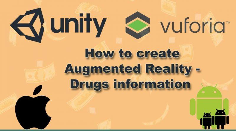 Tutorial  Unity 3d And vuforia (AR) to get drug information