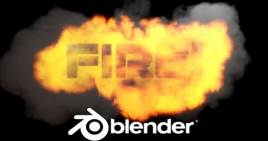 Blender Fire Tutorial - Blender 2.8 Fire Eevee