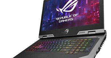 "ASUS ROG G703GX (2019) Gaming Laptop, 17.3"" Full HD 144Hz G-Sync, Overclocked GeForce RTX 2080, Intel Core i9-9980HK, 32GB DDR4, 1TB SSD RAID 0 (2X 512GB M.2), Windows 10 Pro, G703GX-XB96K"