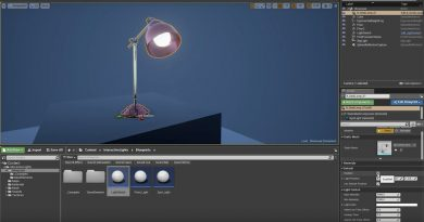 A System For Interactive Lights In Unreal