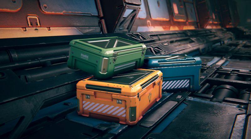 Sci Fi Crate Generator | SideFX