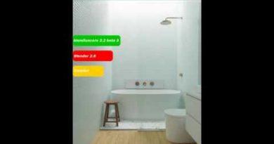 Blender 2.8  luxcore  interior Tutorial