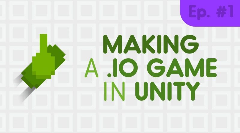 How to make a .io game // Unity tutorial #1