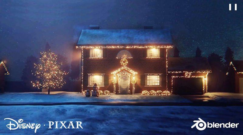 Create a Disney Pixar Style House in Blender   Tutorial Series 2