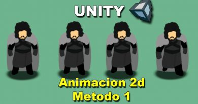 Tutorial: Como hacer una animacion 2D en Unity (Metodo 1)   Jon Snow