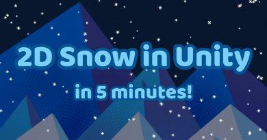 Unity 2D Snow Tutorial [2019]