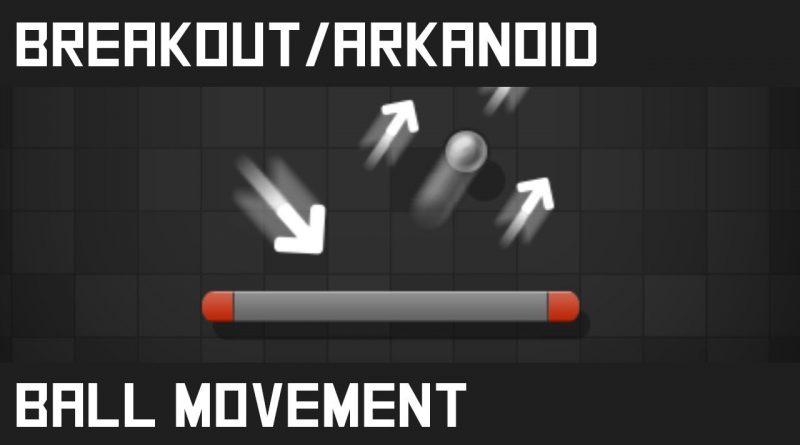 Breakout/Arkanoid - Unity tutorial (E03: Ball movement)
