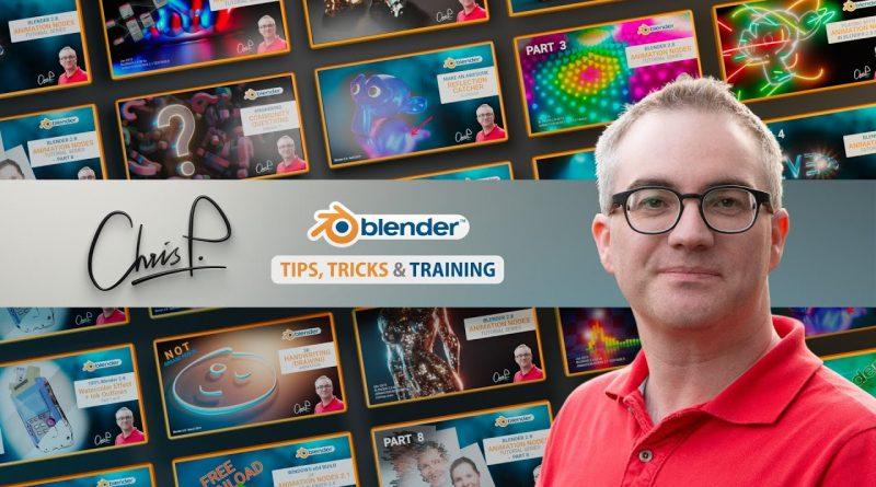 ChrisP Blender Tutorials Channel Trailer