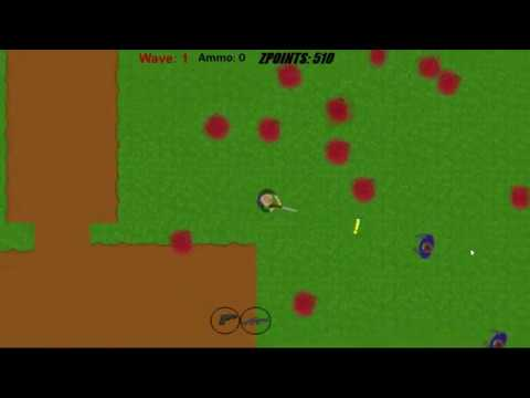 2D Indie Zombie Shooting Game Made With Construct 3