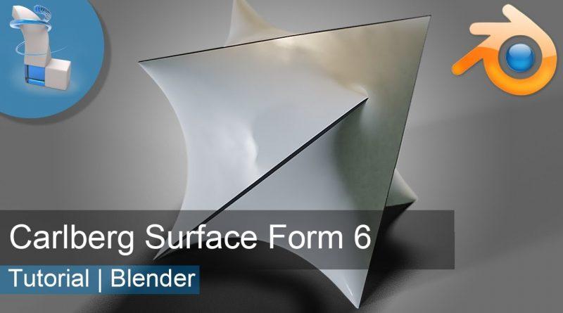 Blender 2.8 Tutorial | Minimal Surface Form 6