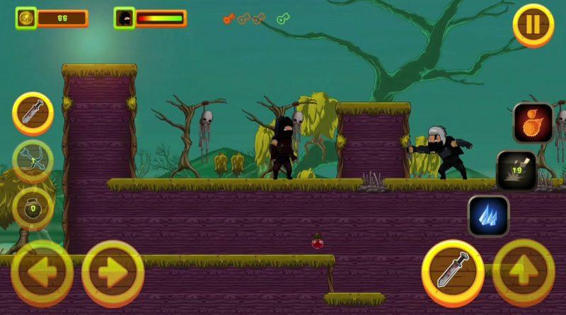 Source Code Black Assassin Game - HTML5 + Mobile Version (Construct 3 / C3P)