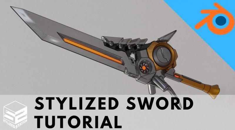 How to model a Sword in Blender 2.8 [16 PART MEGA TUTORIAL]