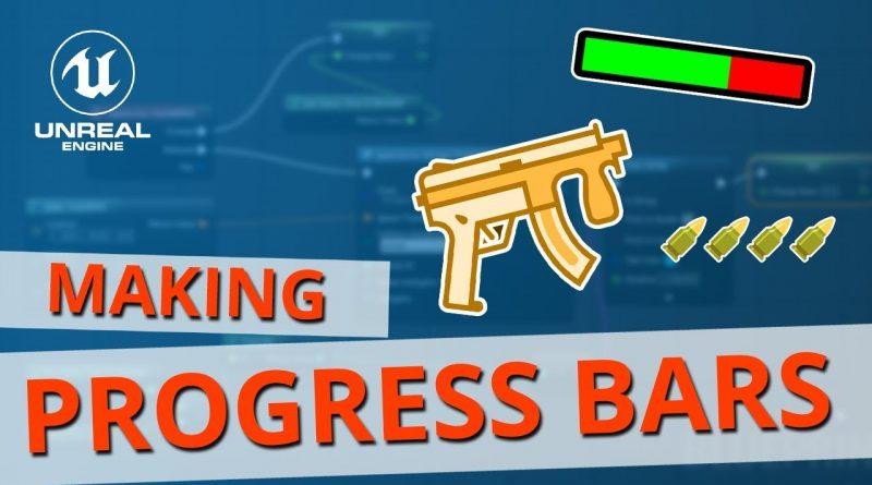 Unreal UMG Progress Bar & Health Bar Tutorial