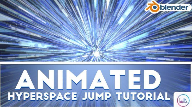 Animated Hyperspace Jump (Blender 2.8 Tutorial)
