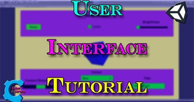 Unity User Interface Tutorial!
