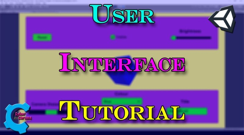 Unity User Interface Tutorial!