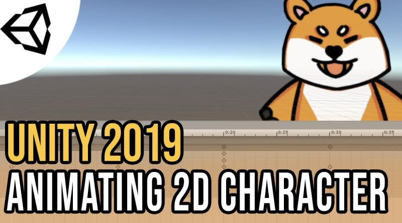 Animating a 2D Sprite - Rigged Sprite [Tutorial][C#] - Unity tutorial 2019