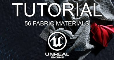 56 Fabric Materials for Unreal 4 - Documentation