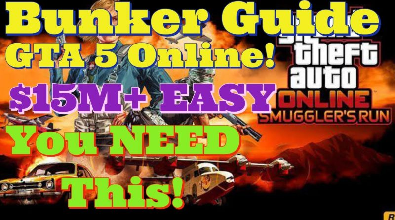 GTA 5 Online BEST BUSINESS IN THE GAME! HOW TO BUY A BUNKER AND MAKE MILLIONS *2020* GTA Online