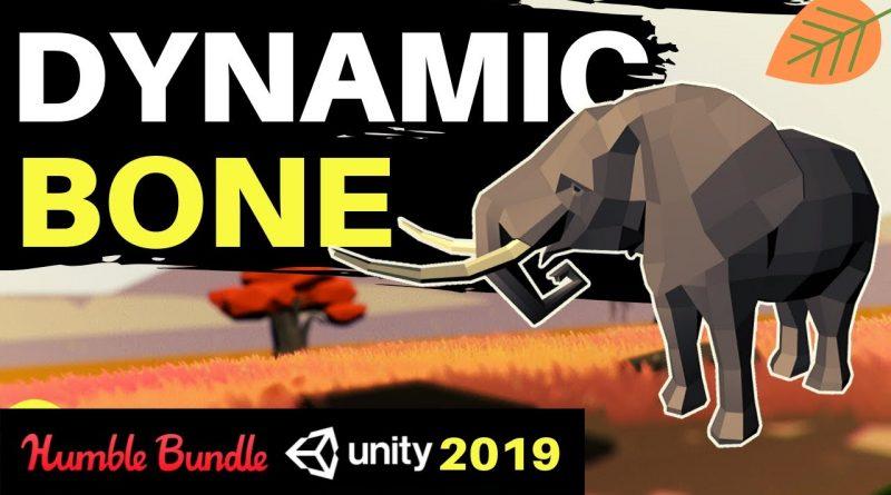 Humble Bundle | Dynamic Bone | Unity 2019 | Great Asset | Quick Tutorial