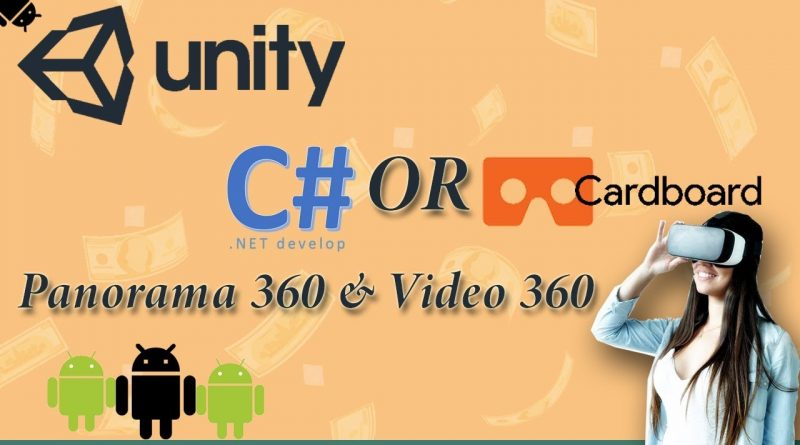 Tutorial  Unity 3d VR By C# and Google VR SDK
