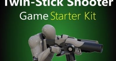 Twin Stick Shooter Game Starter Kit - Unreal Engine 4 Template