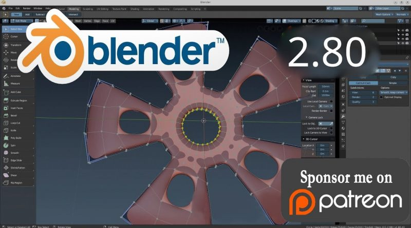 The Secret of the Star. Blender 2.80 tutorial for beginners