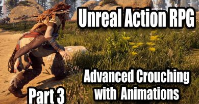 Advanced Crouching with Animations - #3 Creating Action RPG with Unreal Engine 4
