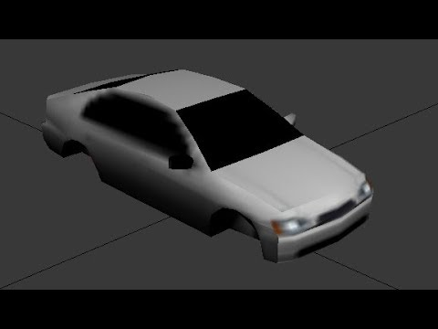 How To Rip 3D Models From PlayStation Video Games - Blender Bach Tutorial