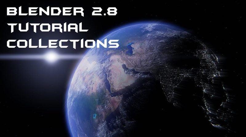 Blender 2.8 Tutorial Collections(Ebenen)