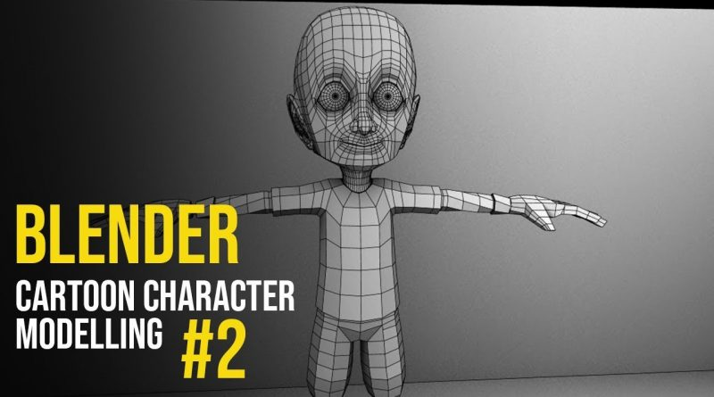 Blender Character Modelling Tutorial - Part 2