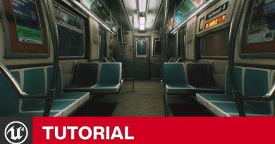Unreal Engine 4 - Lens Distortion Tutorial