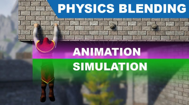 Unreal Physical Animations - Physics blending - UE4 Tutorials #279