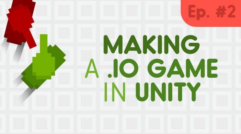 How to make a .io game // Unity tutorial #2