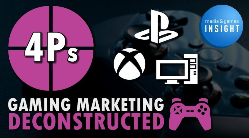 The 4 P's of Video Game Marketing | M&G Insight