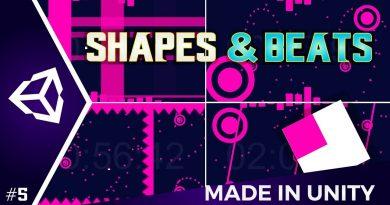 I Made Shapes & Beats Unity 2D tutorial
