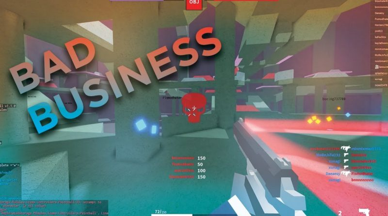 SNIPING ON NEW FPS GAME (Bad Business)