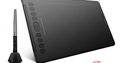 Huion H1161 Graphic Drawing Tablets 11 x 6.8 inch Graphics Tablet with Battery-Free 8192 Pen Pressure, 10 Express Keys and Touch Strip, Compatible with Mac, PC or Android Mobile