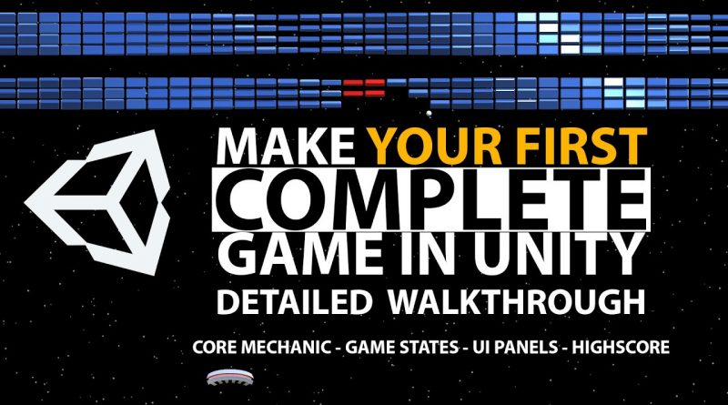 Make Your FIRST COMPLETE Game in Unity | BEGINNERS