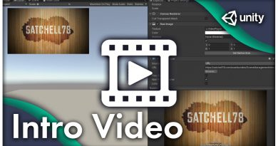 SceneManager and VideoPlayer | #Unity