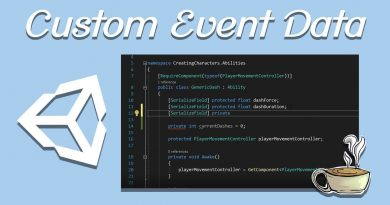GameDev Architecture - Scriptable Object Events With Custom Data - Unity - Part 2
