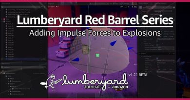 Add a PhysX Force Region to an Explosion | Lumberyard Game Tutorial