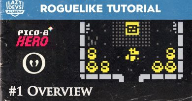 Making a Roguelike #1 - Overview - Pico-8 Hero
