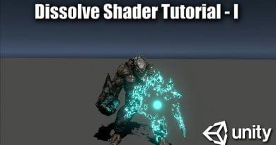 Dissolve Shader Tutorial - Part 1