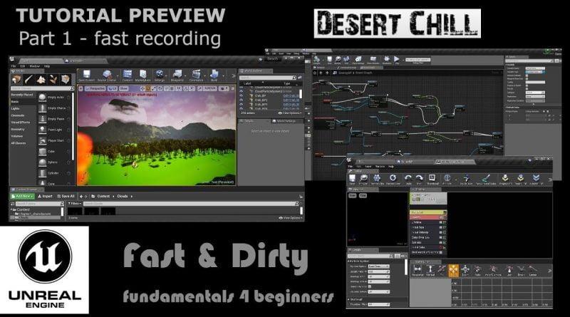 Unreal Engine 4 Tutorial Desert Chill Preview Speed Level Design Landscape