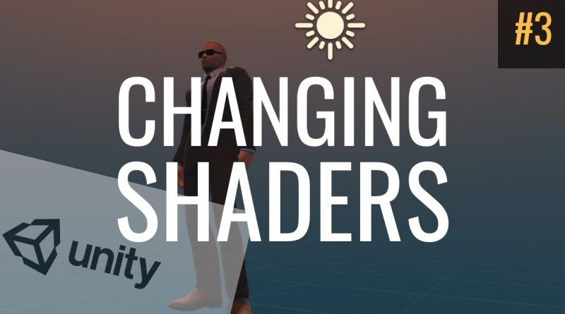 #3 Changing Shaders and Materials | Unity Tutorial