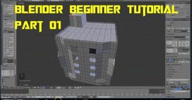 How to make a 3D Building in Blender | Beginner Tutorial