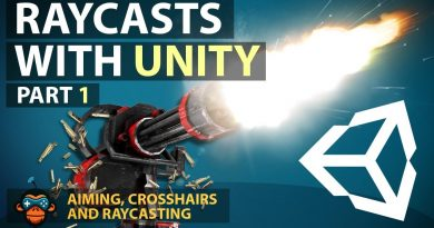 Unity Raycasts and Crosshairs - GameDevHQ