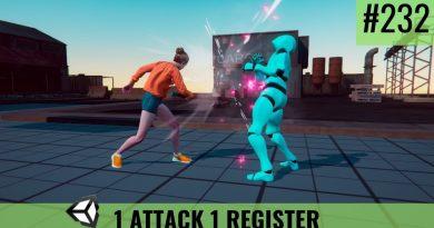 #232 One Attack, One Register - Unity Tutorial - Devlog