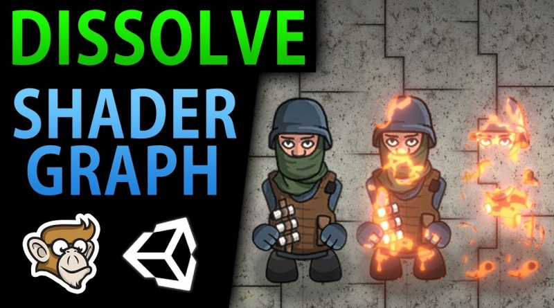 Sprite Dissolve - 2D Shader Graph Tutorial